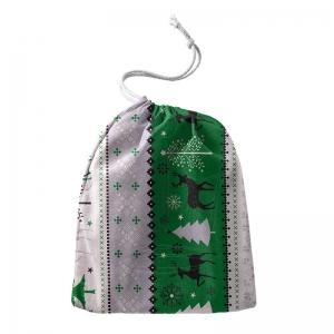 Worek na prezenty 50×70 cm Zima Świąteczny BAWEŁNA 100%