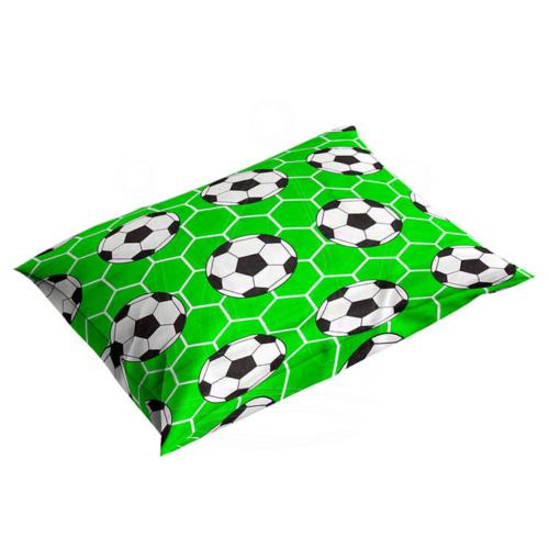 Poszewka 40×40 cm BAWEŁNA na poduszkę Piłkarz Jasiek