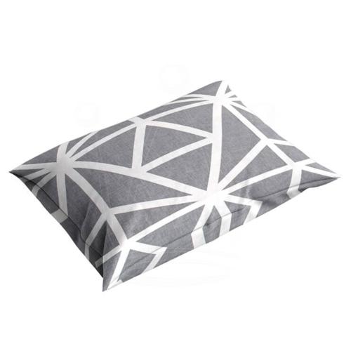 Poszewka 40×40 cm BAWEŁNA na poduszkę Geometria Jasiek